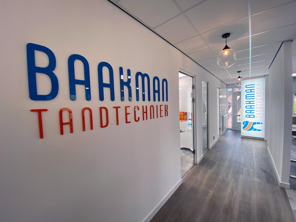 Branding Tandtechnisch bureau Zutphen